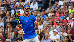 Nadal survives Pouille fright to progress...