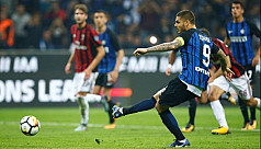 Icardi hat-trick as Inter reign in...