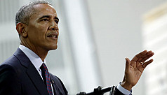 Obama returns to campaigning to rally...