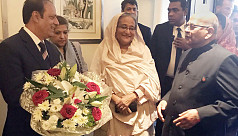 PM Hasina clears 10 urgent files from...