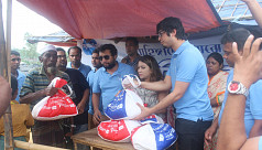 Paradise Group distributes relief among...
