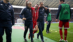 Ribery sidelined by ligament