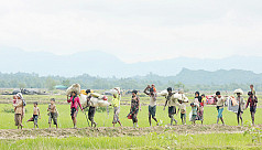 Myanmar troops struck first in...