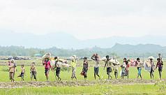 Myanmar troops struck first in...