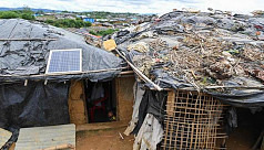 Packed out Rohingya camps vulnerable to fire