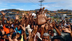 Myanmar says temporary camp will house...