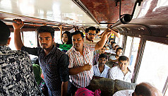 Dhaka's seating service buses likely...