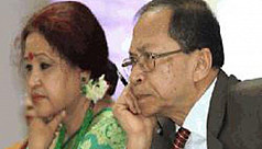 Chief Justice Sinha's wife also leaves...