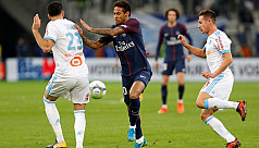 Neymar sees red as PSG snatch Marseille...
