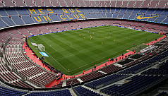 Barcelona closed stadium to show support...