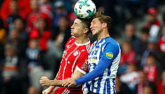 Bayern misery continues as Hertha fight...