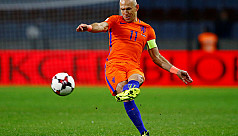 Robben gives up on World Cup...