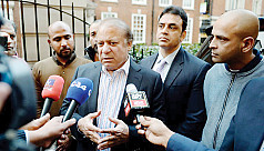 Ousted Pakistani PM Nawaz Sharif returns...