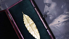 Gold leaf from Napoleon's crown fetches...