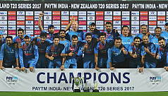 India clinch rain-hit thriller to win...