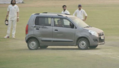 Man drives car onto pitch to halt Ranji...