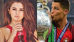 Ronaldo climbs Instagram ranks, Selena...