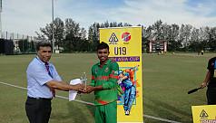 Bangladesh U19s continue winning streak,...