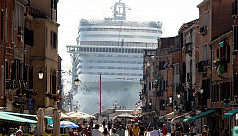 Giant cruise ships banned from Venice canal
