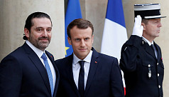 Lebanon's Hariri arrives in Paris as...