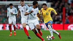 England frustrate toothless Brazil