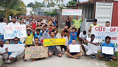 Why does Australia detain asylum seekers in offshore camps?