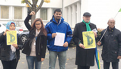 Bangladeshi students in Germany demand...