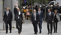 Spain detains Catalonia's eight former...