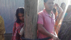 Man, woman tied to pole, tortured