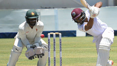Powell falls short of ton as West Indies...