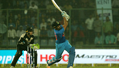 Sharma, Dhawan gift India first T20...