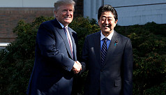 Trump lands in Japan to kick-off Asia trip