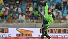 Hafeez suspended from bowling in...