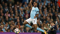 Sterling rises in Guardiola's...