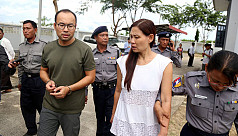 Myanmar jails filming crew for 2 months...