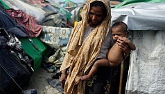UN says 100,000 Rohingya in grave danger...