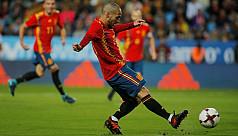 Silva leads Spain's assault on Costa...