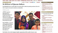 Bangladeshi father in fear of deportation...