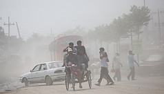 Dhaka ranks 10th in worst air quality...