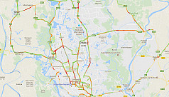 Dhaka traffic update now a part of Google...
