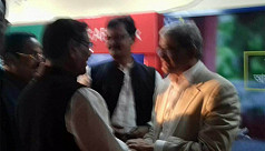 Fakhrul, Quader bump into each other...