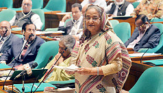 Bangladesh PM: We are on the verge of...