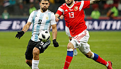 Argentina beat Russia in World Cup venue...