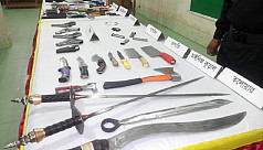Arms-making factory busted in...