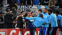 Evra charged with violent conduct by...