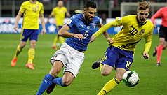 Italy fail to reach World Cup as Sweden...