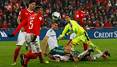 Swiss scrape into World Cup with draw...