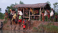 WHO fears monsoons will aggravate Rohingya...