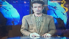Brave Afghan journo goes on air minutes...
