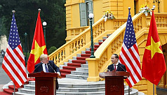 Trump rails at Vietnam trade imbalance...